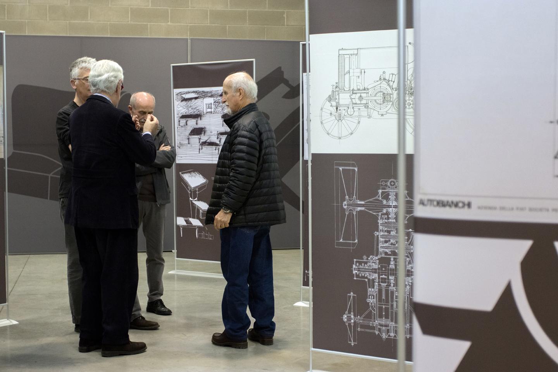 vittorio parigi e tono morganti visitano la mostra